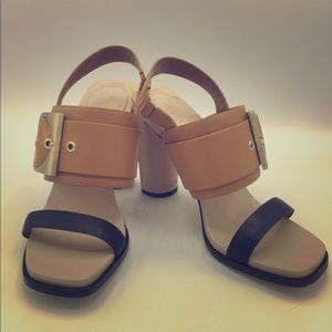 Calvin Klein Block Heel Sandal, US Size 6